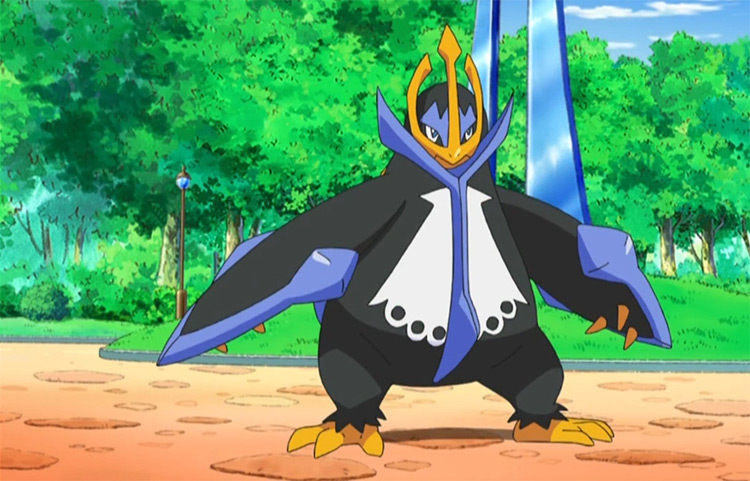 Empoleon in the anime