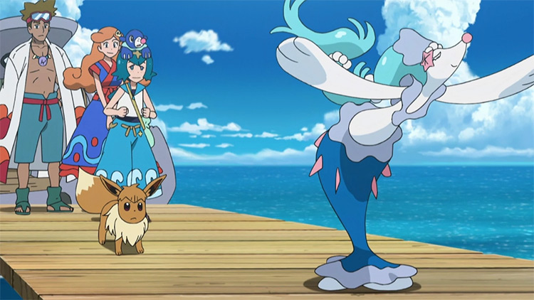 Primarina Pokemon anime