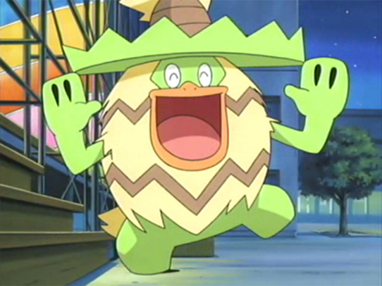 Ludicolo anime pokemon