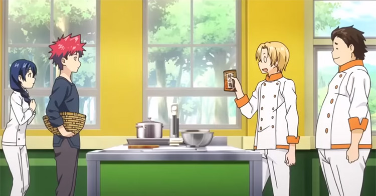 Food Wars anime show, best cooking anime ever