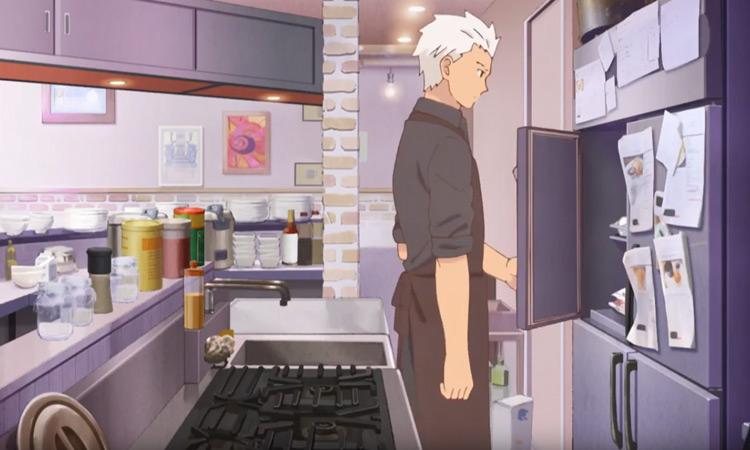 Emiya-san Chi no Kyou no Gohan anime