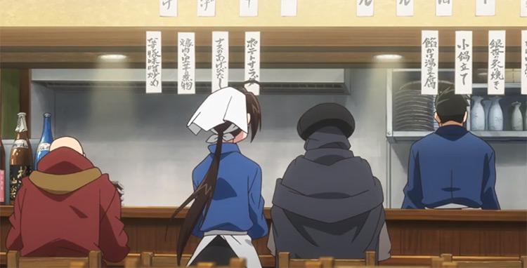 Isekai Izakaya Nobu anime screenshot