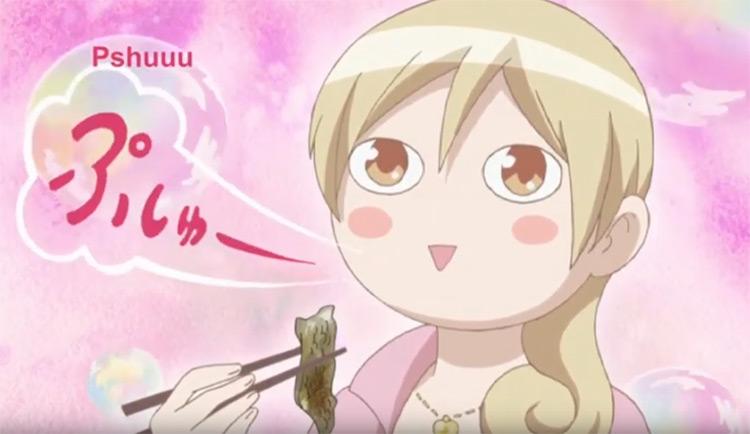 Wakakozake food themed anime