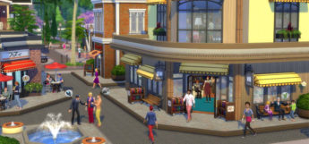 Sims 4 Downtown