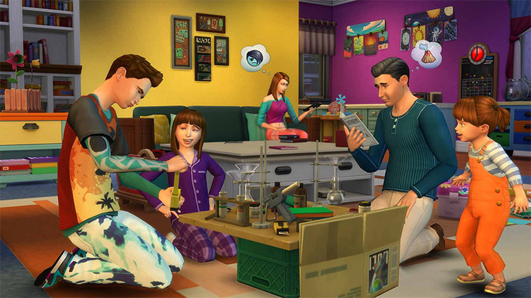 Parenthood Sims 4 GP