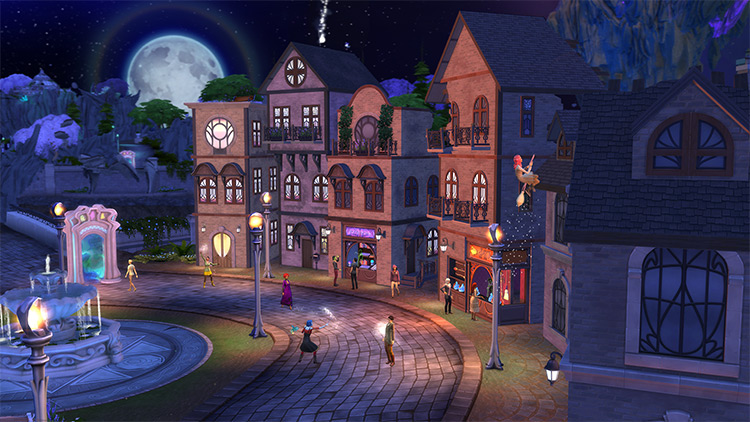 Realm of Magic Sims 4 GP
