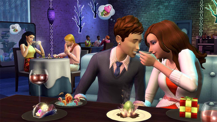 Dine Out Sims 4 GP