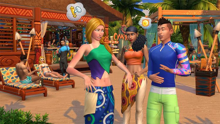 Island Living Sims 4 EP