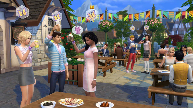 Sims4 Get Together EP