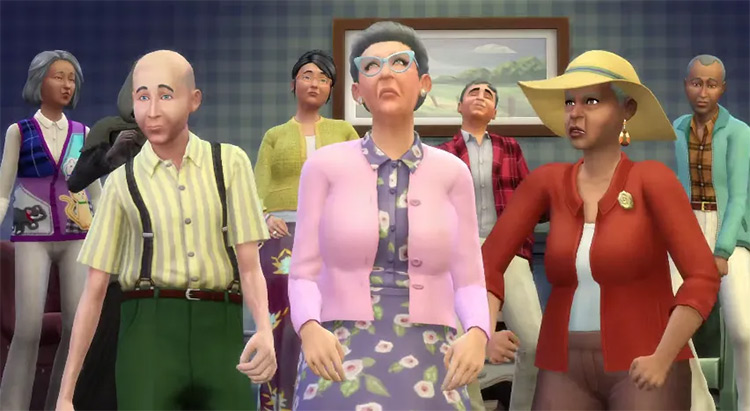 Social Services career in Sims 4