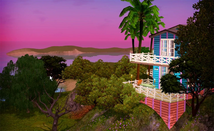Isla Paradiso in Sims 3