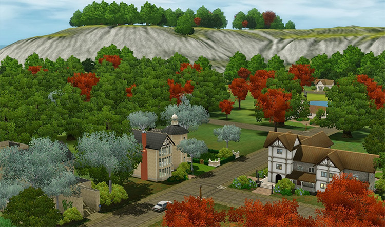 Dragon Valley in Sims 3