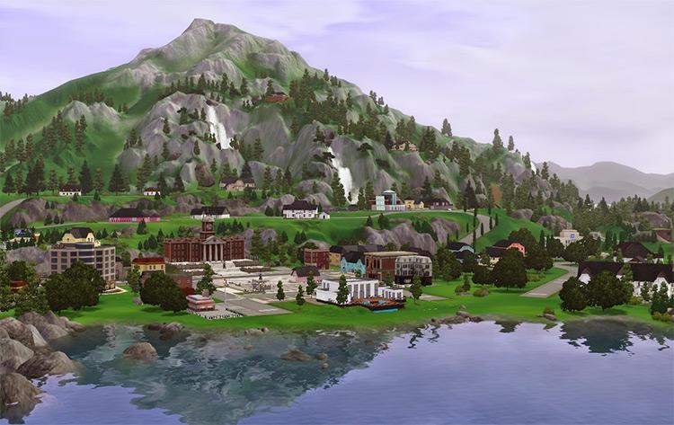 Hidden Springs in Sims 3
