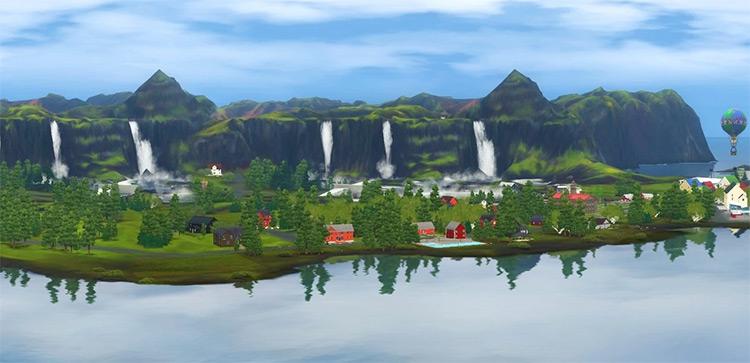 Aurora Skies in Sims 3