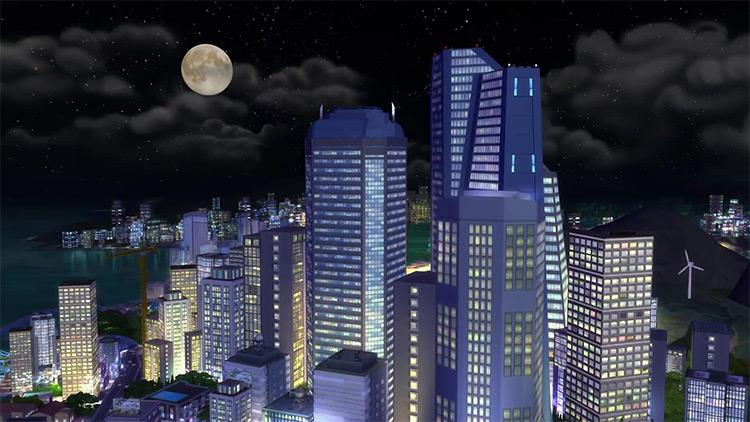 San Myshuno in Sims 4