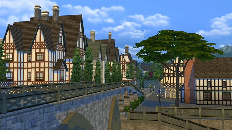 Windenburg in Sims 4