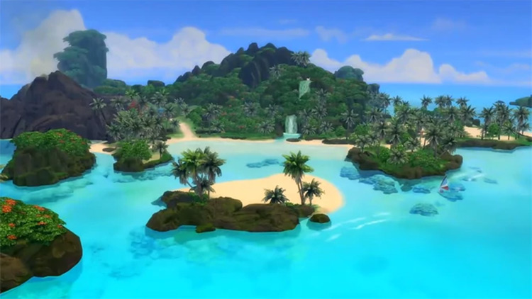 Sulani Sims 4 world