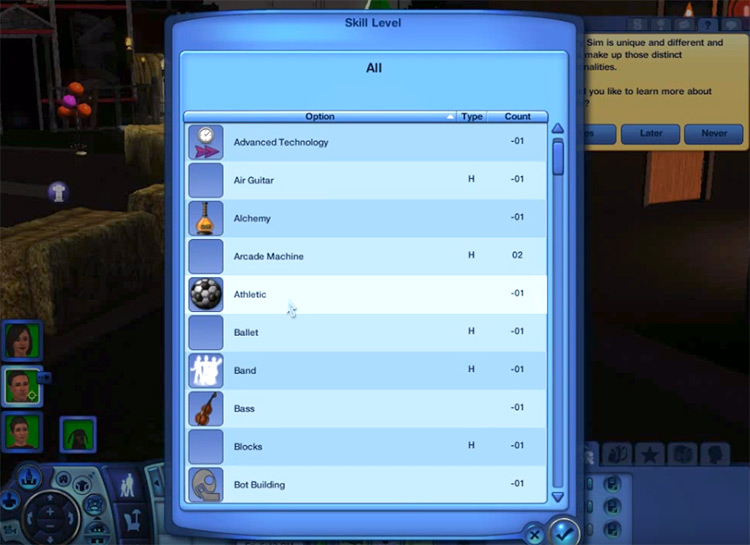 Master Controller mod for Sims 3