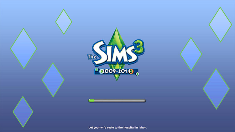 Sims 3 Loading Screen Replacement mod