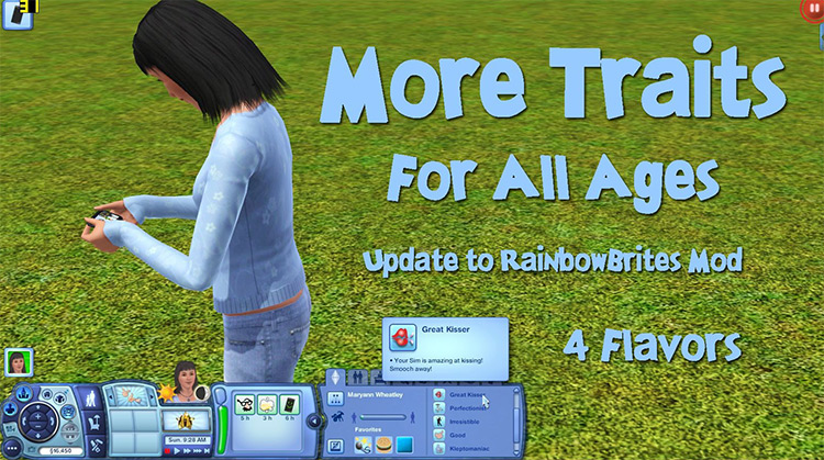More Traits All Ages Sims 3 mod