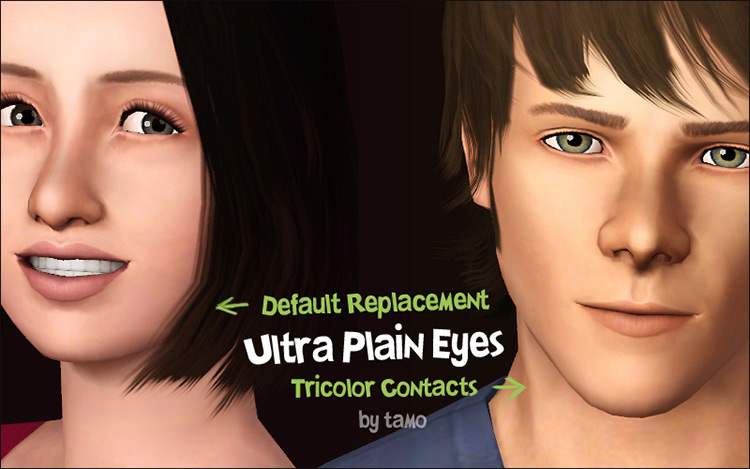 Ultra-Plain Eyes Sims 3