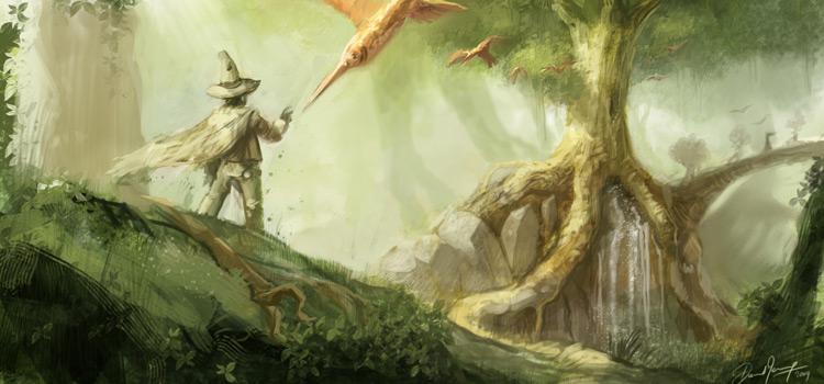 David Revoy fantasy worldbuilding concept art