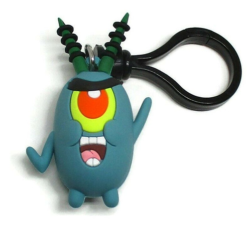 Bag clip-on of Plankton