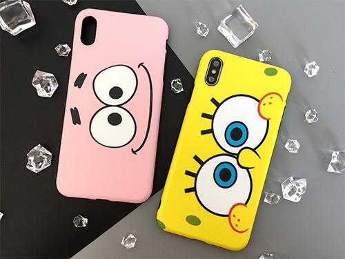 iphone cases spongebob and patrick