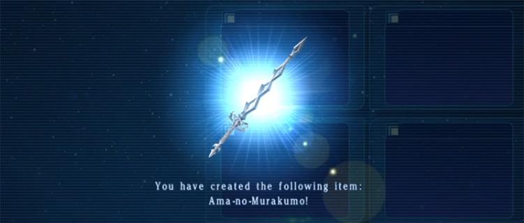 Ama-no-Murakumo from Star Ocean 5