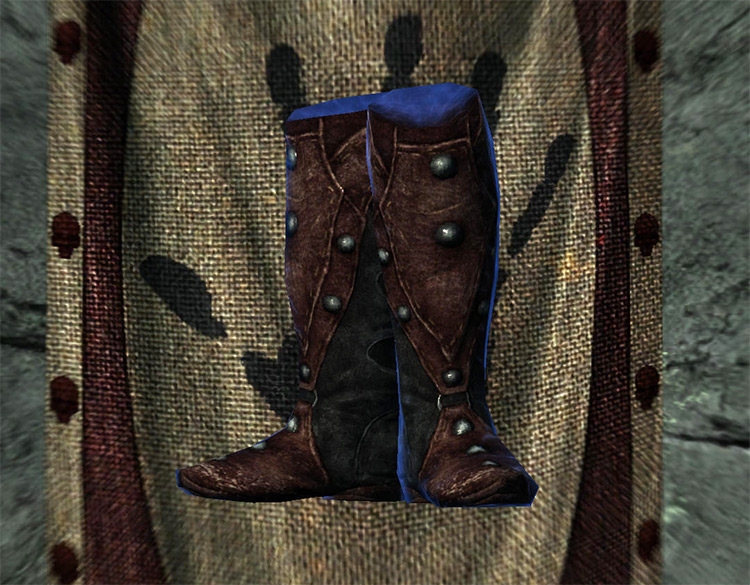 Ancient Shrouded Boots in Skyrim