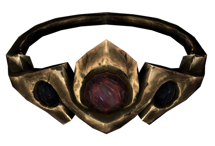 Gold and Ruby Circlet Skyrim