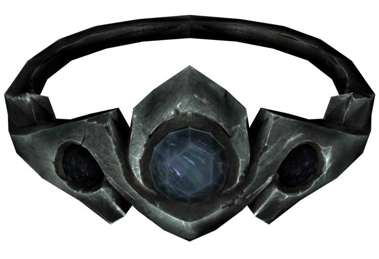 Silver and Sapphire Circlet Skyrim