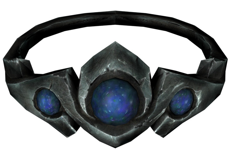 Silver and Moonstone Circlet Skyrim