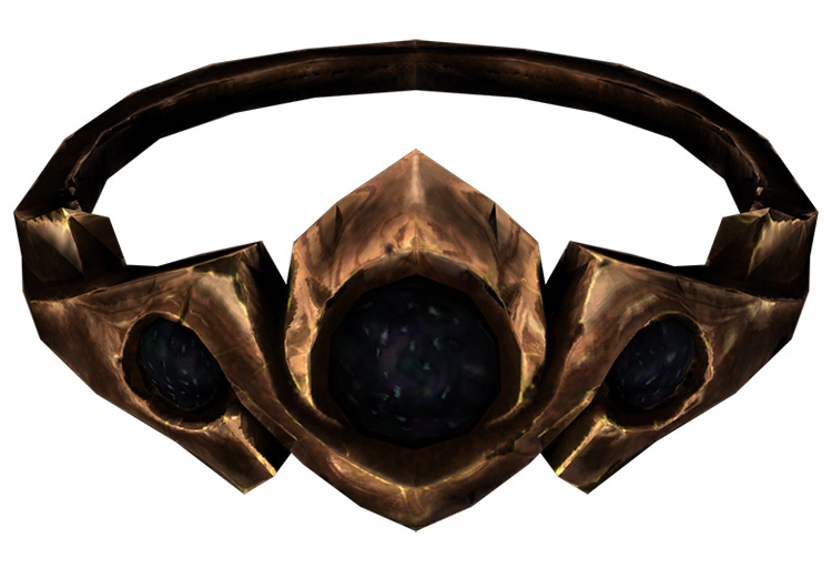 Copper and Onyx Circlet Skyrim