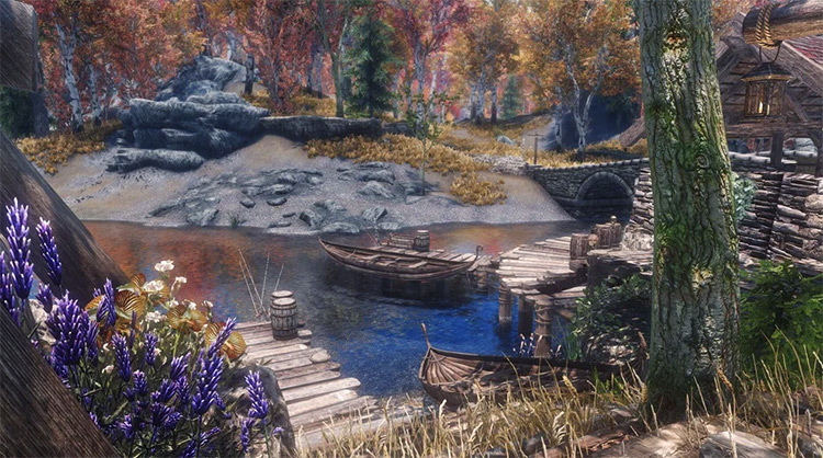 Ivarstead community in Skyrim