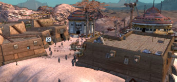 Kenshi environment cel shaded restyling