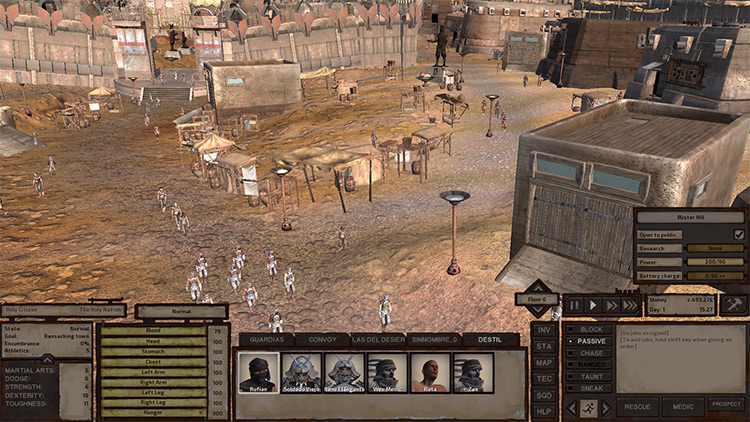 Populated Cities Kenshi mod