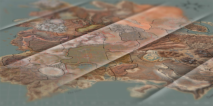 Nice Map Kenshi mod