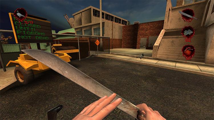 Pigeons Hunter Mission mod in Postal 2