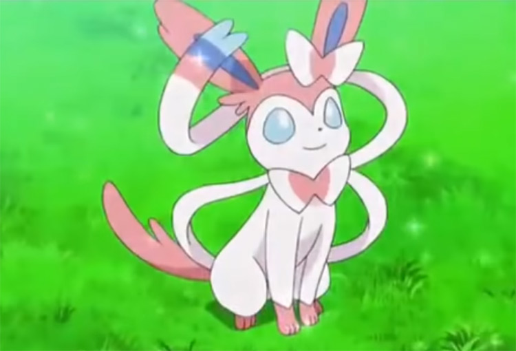 Sylveon from the anime