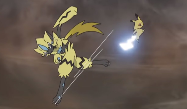 Zeraora Pokemon