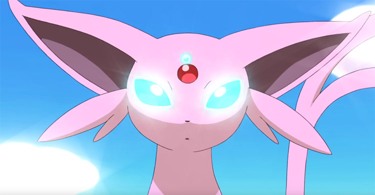 Espeon in Pokemon anime