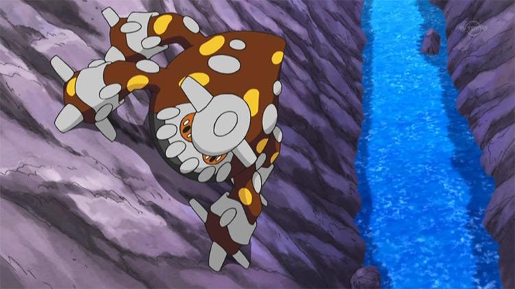 Heatran in Pokemon anime