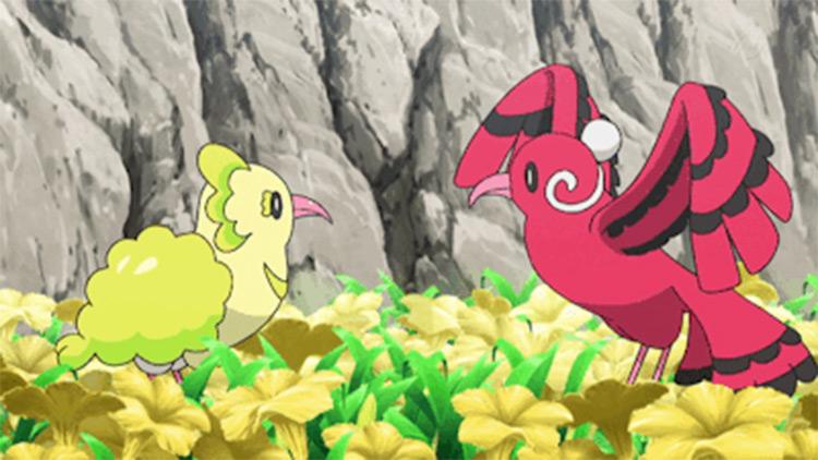 Oricorio baile style in Pokemon