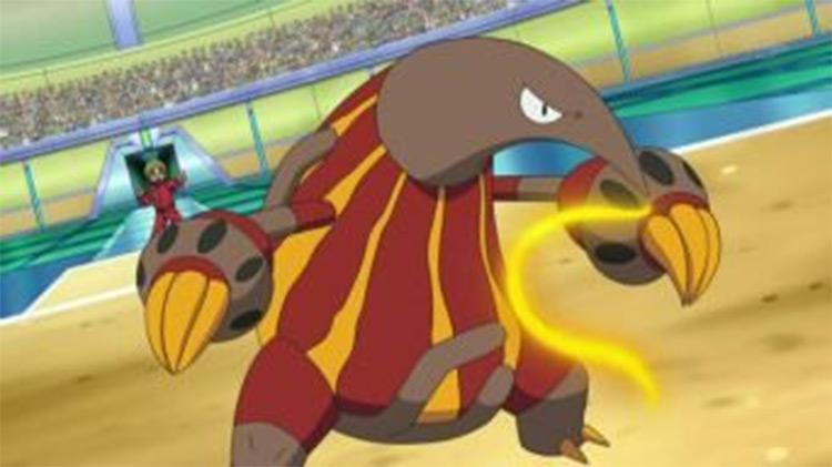 Heatmor anteater Pokemon in the anime