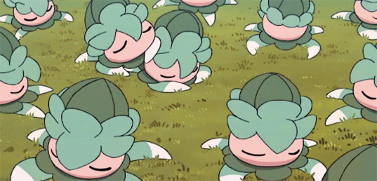 Fomantis in Pokemon anime