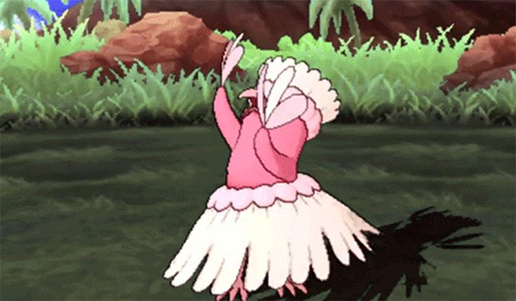 Oricorio Pokemon in-game screenshot