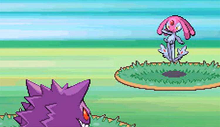 Mesprit in the Pokemon in game