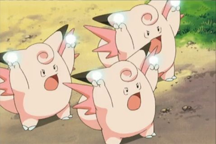 Clefable from the anime