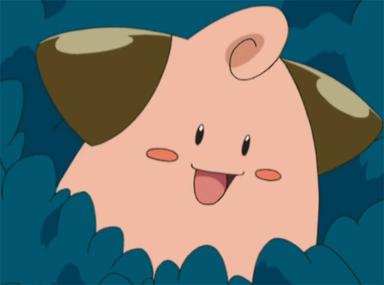 Cleffa baby Pokemon in the anime